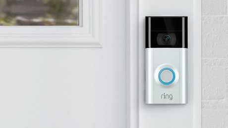 Ring is a Wi-Fi-enabled video doorbell that allows users to see who is at their door by simply looking at their smartphone. Picture: Ring