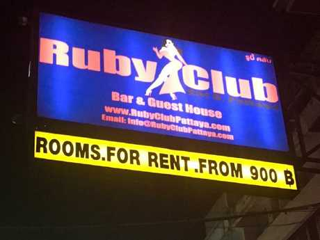The Ruby Club is in the heart of notorious Pattaya, and is known to attract motorcycle gangs.