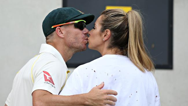 Candice and David Warner have endured a rough tour to South Africa.