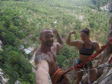 Reaching new heights. Picture: Luke Richmond