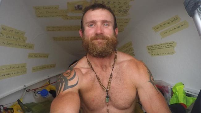Australian adventurer Luke Richmond has detailed his incredible transformation in a new book.