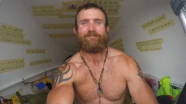 Australian adventurer Luke Richmond has detailed his incredible transformation in a new book.