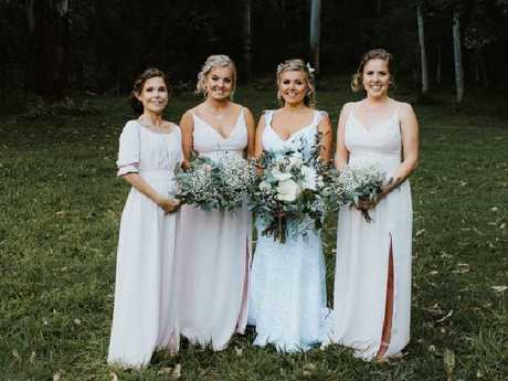 Chris' mum made all the dresses. Picture: Bulb Creative