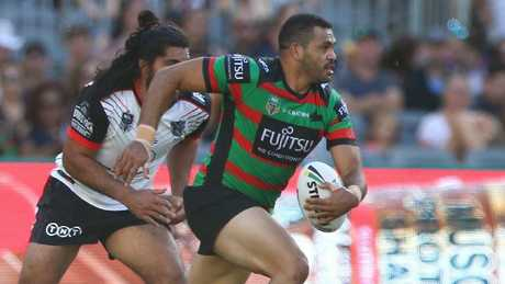 Greg Inglis was below his best for the Rabbitohs.