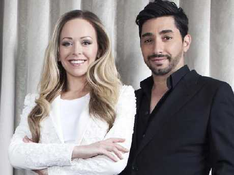 Australians Tamara Ralph and Michael Russo of Ralph & Russo. Picture: Supplied