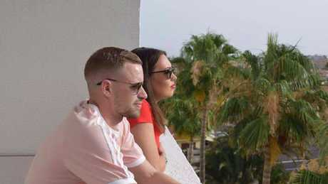 Danielle and Niall are preparing to try IVF to realise their dreams of becoming parents. Picture: Danielle Golding/Facebook