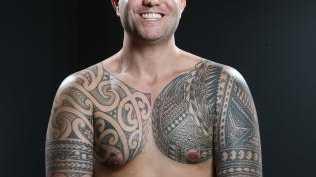 Half-Maori, half-Tongan Sam Sliz.