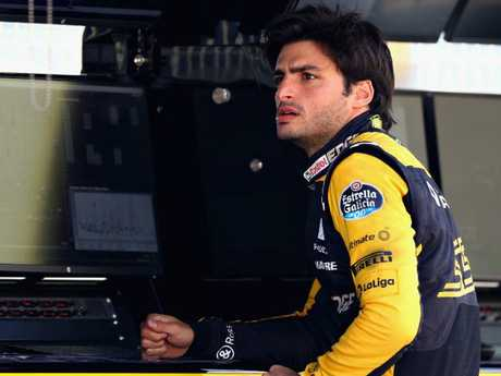 Carlos Sainz was fastest for Renault.