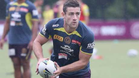 Andrew McCullough at Brisbane Broncos training. Pic Annette Dew