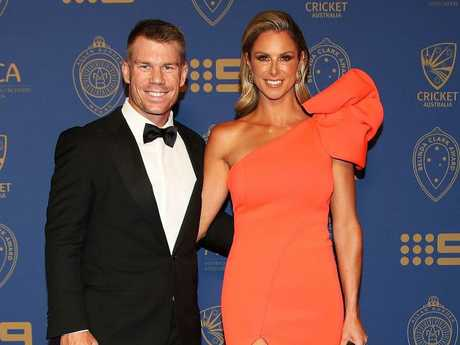 Candice Warner has unfairly been dragged through the mud