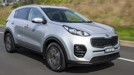 Kia Sportage: Gets the Tick from PG.