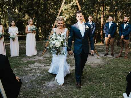 Mr and Mrs McClenahan. Picture: Bulb Creative