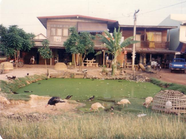 The compound in Udon Thani.