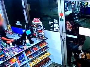 Would-be robber knocks on servo door