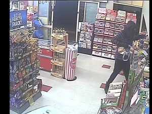 Masked bandit terrorising Ipswich businesses strikes again