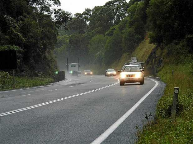 This section of road on the Bruce Highway at Black Mountain was a noted black spot before the Cooroy to Curra upgrade