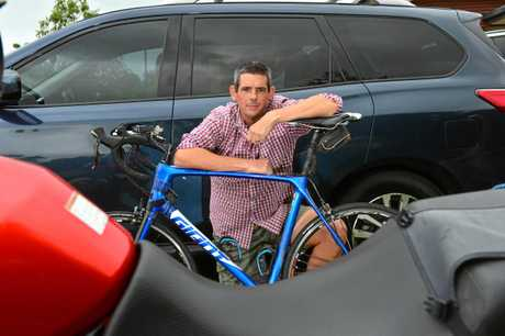 Cam Frewer has created a facebook page to educate drivers about cyclists on the roads and he has received death threats for his efforts.