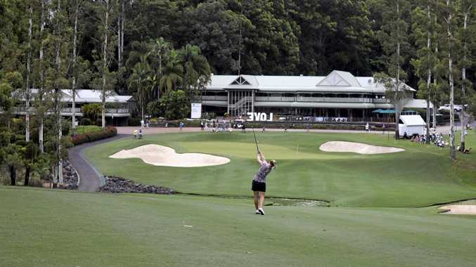 The beauty of the Bonville Golf Resort was on full display during the Australian Ladies Classic.