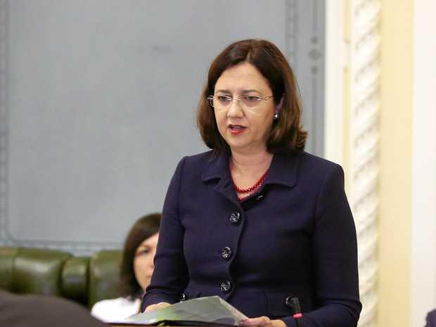 SLASHED: Premier Annastacia Palaszczuk cut funding to Queensland's Neighbourhood Watch program. FILE PHOTO