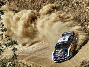 Ogier leaves the field in his dust
