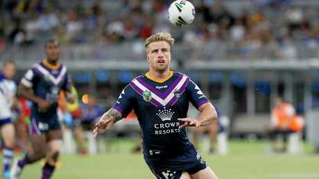 Cameron Munster will shift to the halves to make way for Slater.