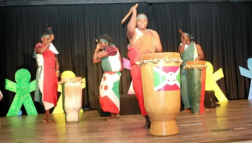DRUMMING UP CONTACTS: The Rafiki Connection drumming group will be performing at Harmony in Health Expo.