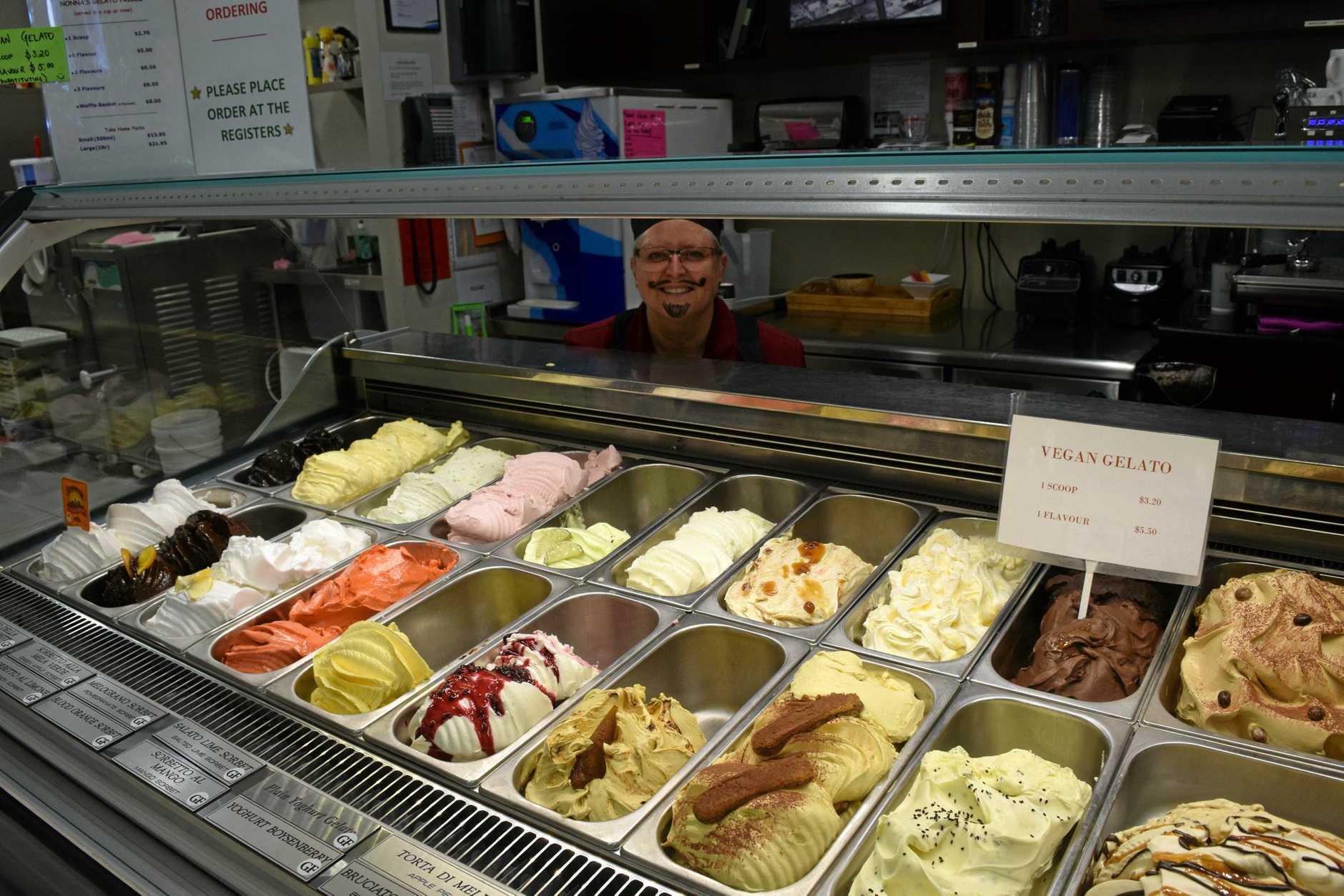 BACKSTAGE PASS: Visitors enjoyed a Nana's Pantry gelato tour as part of Winterfeast, hosted byu head gelato maker Liz Dern. Photo Carolyn Archer / NewsMailPhoto Carolyn Archer / NewsMail