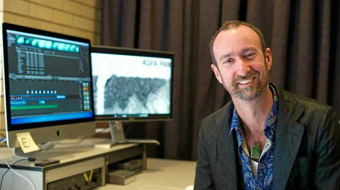 SCU's digital media artist Associate Professor Grayson Cooke caught NASA's attention through his creative use of image data from the space agency's Landsat 8 satellite.