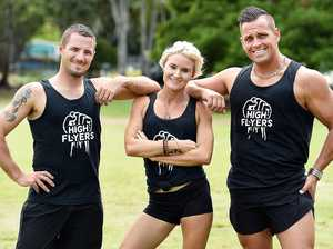 Coast athletes score dream gig as obstacle testers