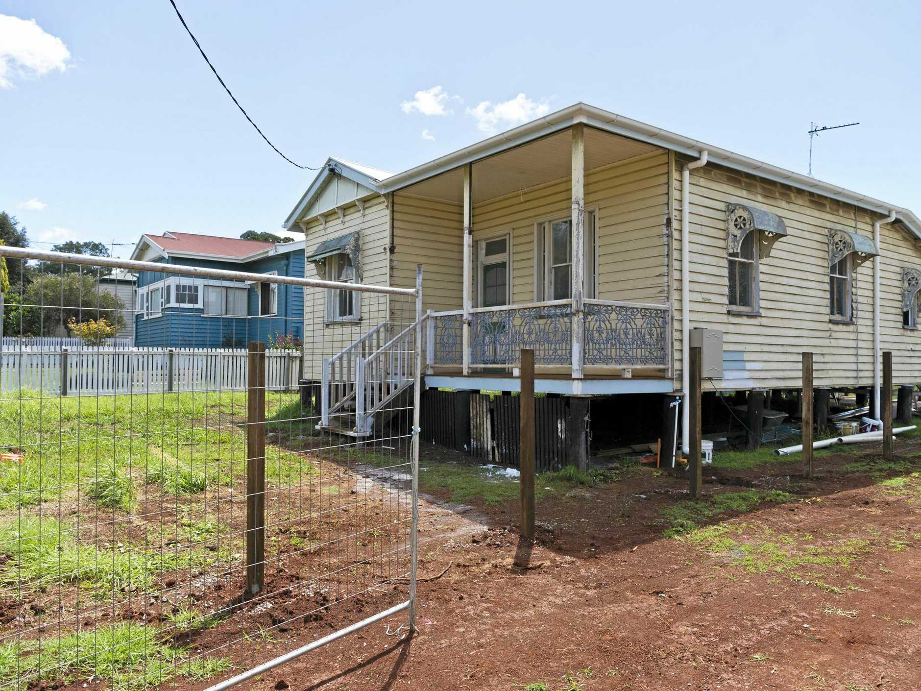 Jasmine Riddle is a renovator who has fixed up several homes in the Toowoomba suburb of Newtown, Monday, March 12, 2018.