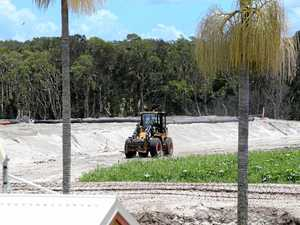 Cudgen estate developers defend giant sand piles