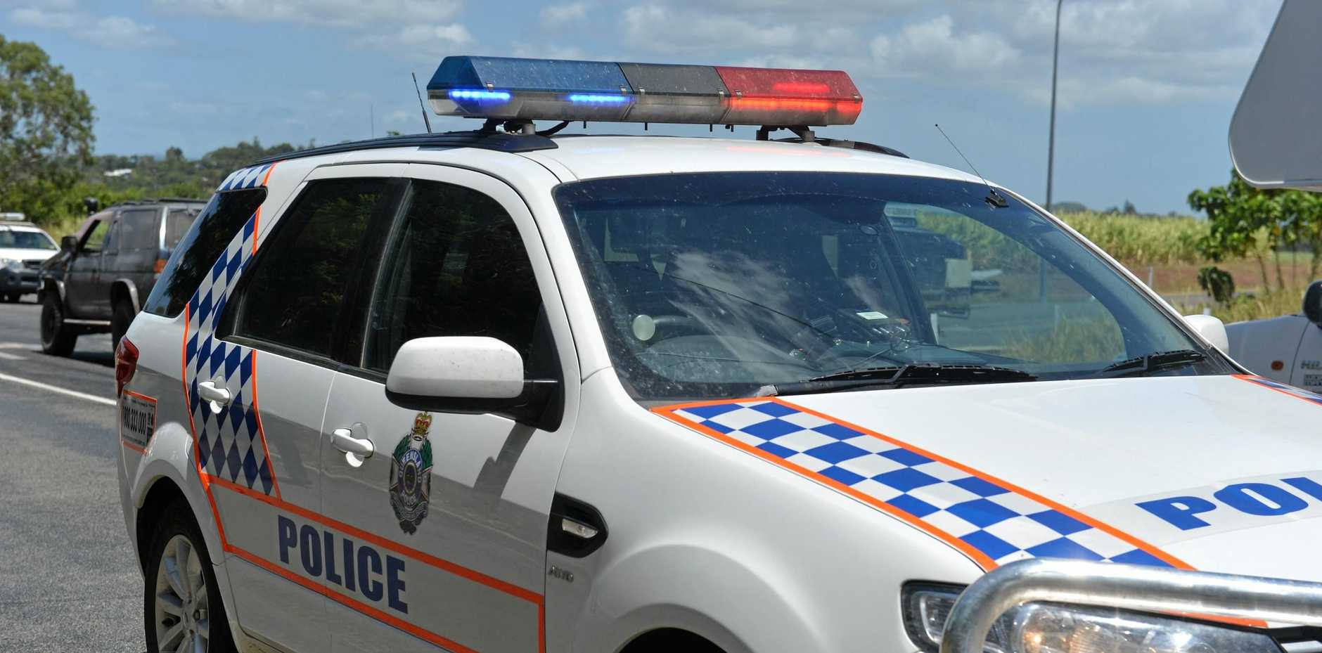 Moranbah police are investigation the discovery of a partially buried drug lab.