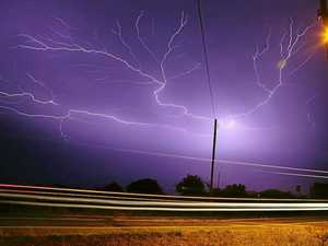 Stress levels spike during severe thunderstorms