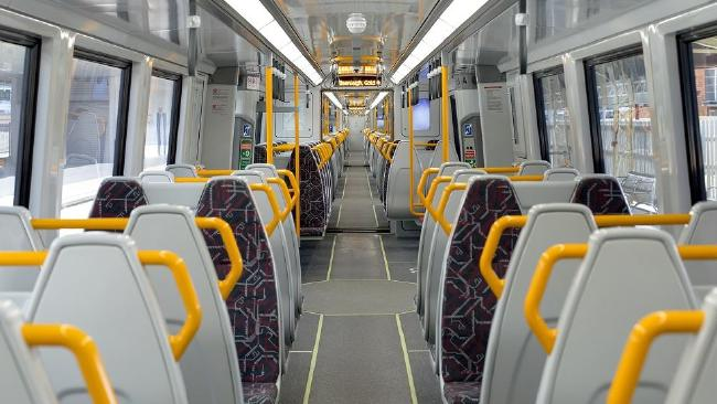 The gangways are too narrow in the new trains. Picture: Supplied.