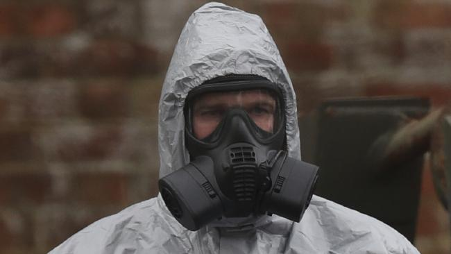 British health authorities said that small traces of contamination have been found in a restaurant and a pub in the English city of Salisbury, after a Russian ex-spy and his daughter were poisoned with a nerve agent. Picture: Andrew Matthews/PA via AP