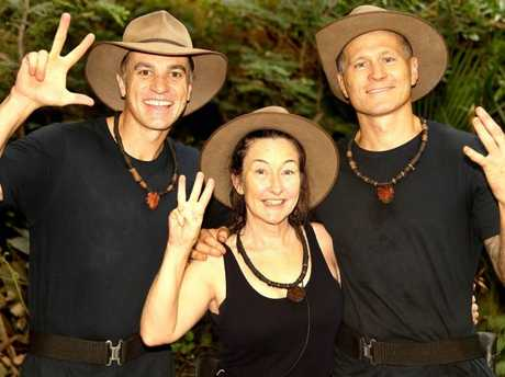 Shannon Noll, Fiona O'Loughlin and Danny Green. Picture: Nigel Wright