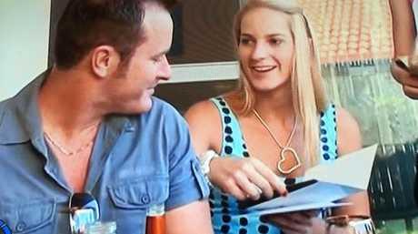 Dan Shearin and Breanna Robinson. Picture: Channel 7