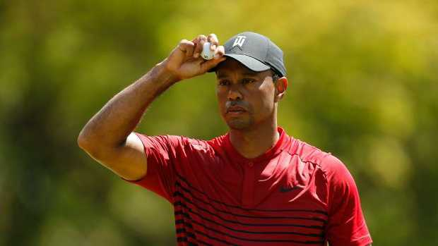 Tiger Woods came close to a PGA Tour win