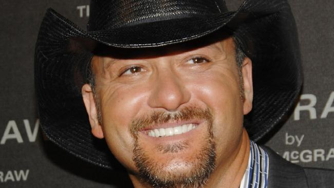 Country singer Tim McGraw has collapsed onstage in Dublin. Picture: AP Photo/Evan Agostini