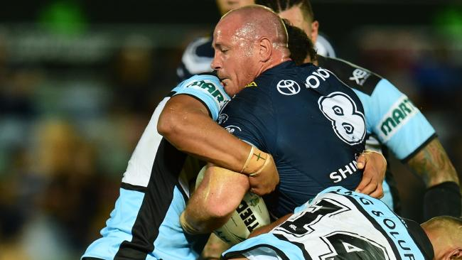 The Cowboys have claimed Scott's reconstructed knee was targeted by Cronulla.