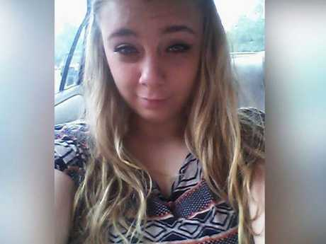Kaylee Muthart shocked onlookers at a church in South Carolina. Picture: Facebook