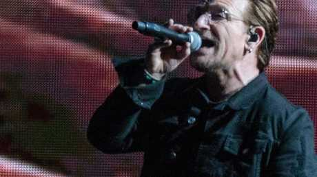 Bono is 'reeling' over the claims. Picture: AFP