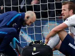 England's worst nightmare: Kane on crutches, Cup doubt