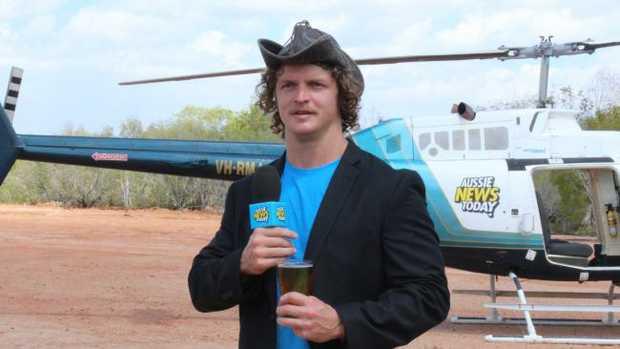 Nick Cummins has his own lingo. Source: Tourism Australia