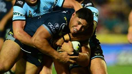 Jason Taumalolo kicked off where he left off last year. Picture: Evan Morgan