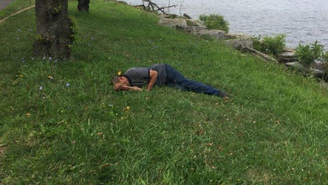 A doctor helped uncover the identity of a lost and injured tourist found unconscious in New York City. Picture: NYPD