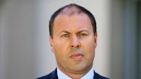 Energy Minister Josh Frydenberg says power prices are expected to fall over the next two years. Picture: Kym Smith