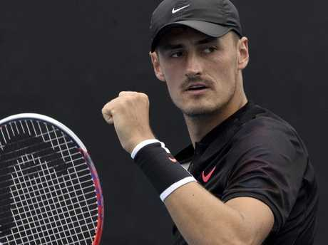 Bernard Tomic said he didn't know many of the people in the VIP booth at The Bedroom.