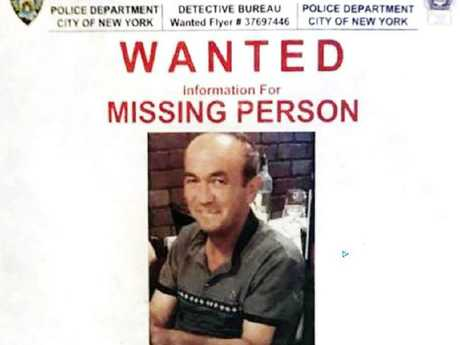 The missing person flyer calling for information about a Uzbek tourist who disappeared in New York City. Picture: NYPD