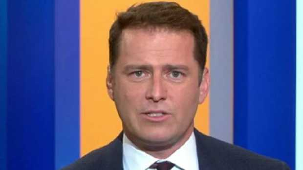 Karl Stefanovic. Picture: Channel 9